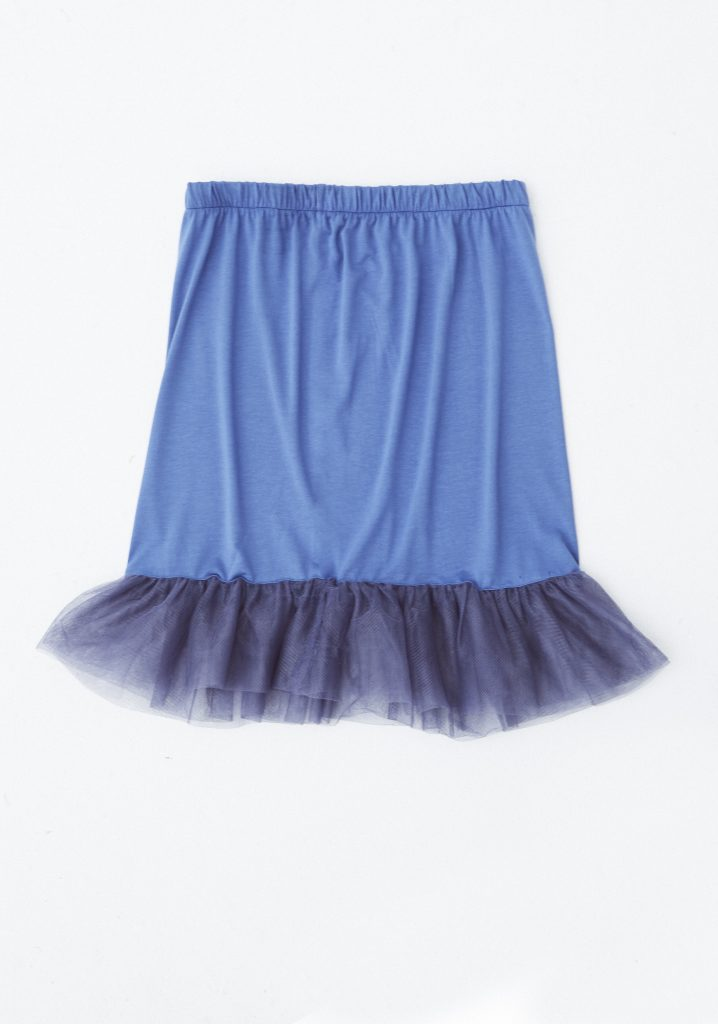 df57636331 La mejor moda española   Bajo Falda Tul- Para alargar tus vestidos o darles  una textura complementaria